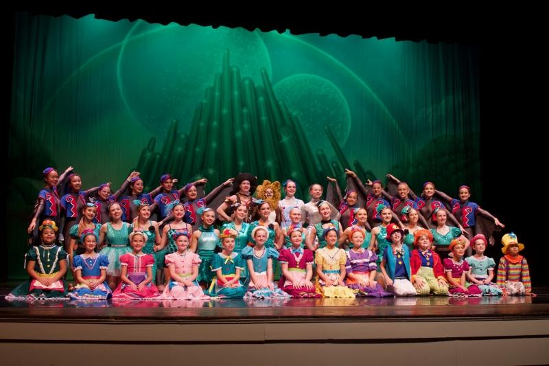Characters in Wizard of Oz Recital