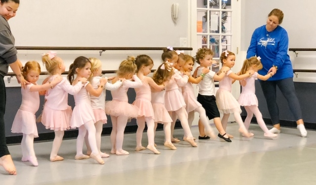 2.5-4.5 Year Old Ballet